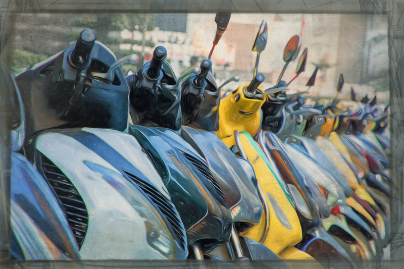 Hanoi: Motor Scooter City