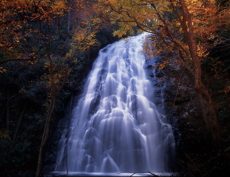 Crabtree Falls In Autumn