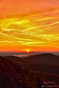 Sunrise On The Blue Ridge