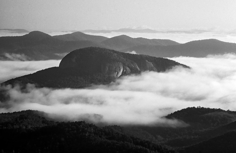 Looking Glass Rock, NC