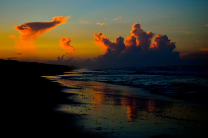 Tropical Storm Beach Sunrise