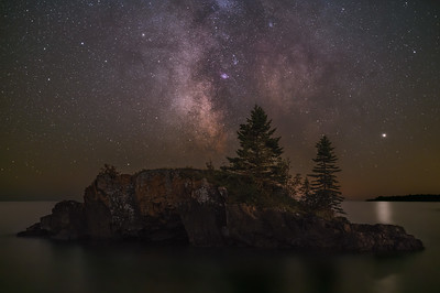 Hollow Rock Milky Way #2
