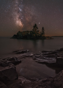 Hollow Rock Milky Way #1