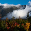 Katahdin and Clouds