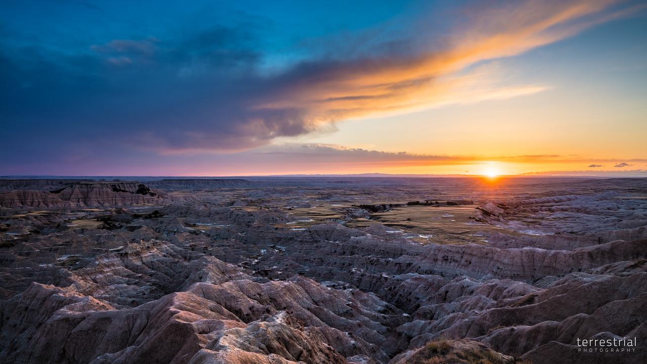 Hay Butte Overlook Sunset