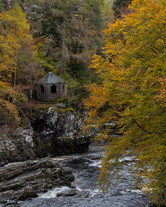 The Summer House by Invermoriston Falls, Invermoriston, Highland Region, Scotland