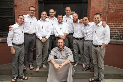 Reception of Postulants 2014