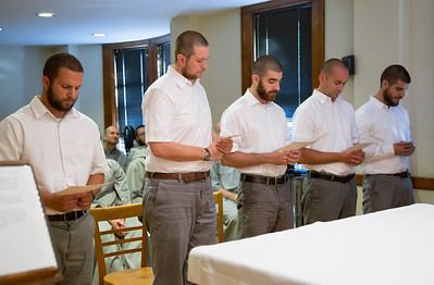 Reception of Postulants 2016