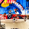 The Start line of Red Bull Crashed Ice 2016