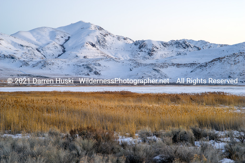 Winter at Antelope Island