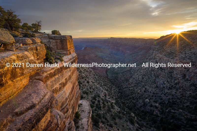 Sunrise at Lipan Point