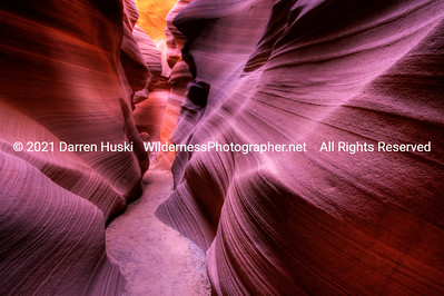 The waves and colors of Antelope Canyon.  Navajo Tribal Park, Arizona