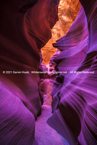 Trail in Lower Antelope Canyon