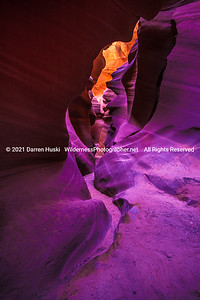 Crawling through Lower Antelope Canyon