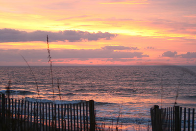 Folly Sunrise-Ocean Side