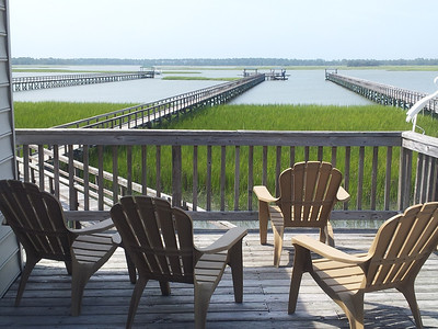 Marsh view from our deck