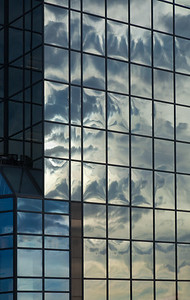 Clouds in Glass, Kansas City, 2011