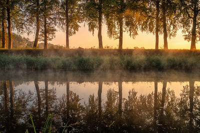 Sunrise in the Netherlands