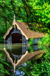 The Boathouse Reflection