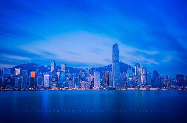 Victoria Harbour -Blue Hour
