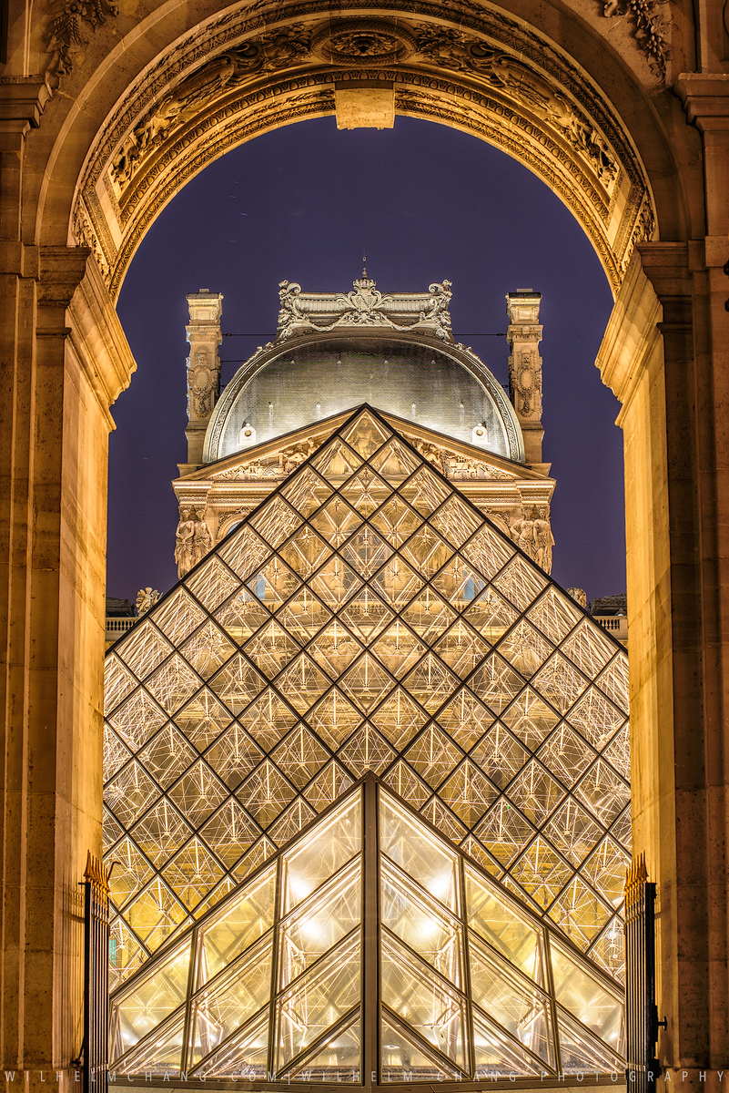 到巴黎攝影 - 羅浮宮 Musee du Louvre by 旅行攝影師張威廉 Wilhelm Chang Photography