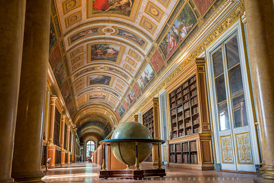 Château de Fontainebleau -Library