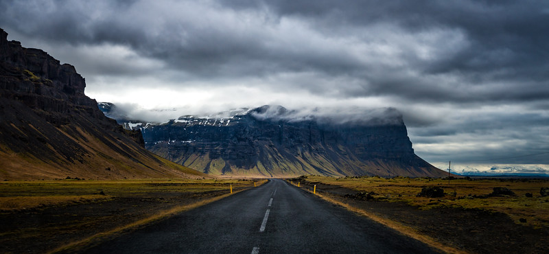 View on Route 1, Iceland
