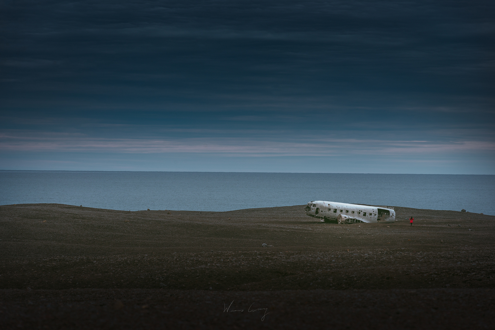 DC-3 Wreckage, Iceland