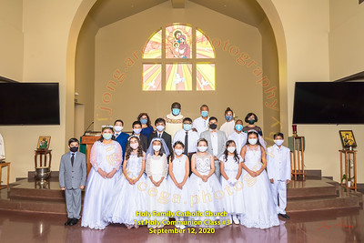 2020-09-12 HF 1st Holy Communion Group