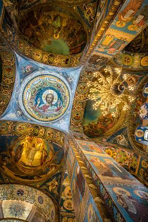 Looking up in St. Petersburg