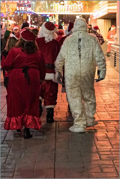 Abominable Santa Walk, Reno, Nevada