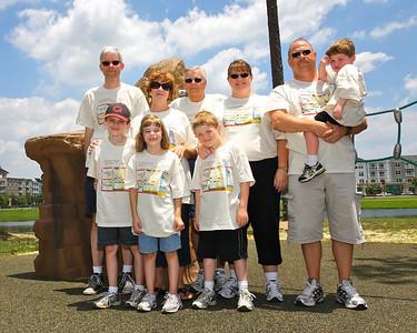The Chaudoin / Stewart Family: Chris; Henry; Clara; Cheryl; Gary; Patrick; Stacey; Tom; Andrew (not pictured: Scheri; Sara; Matthew)