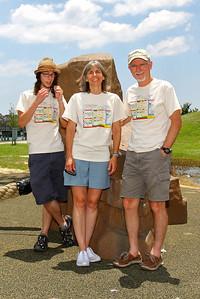 The Marsh / Hodges Family: Drew; Cherri; Paul; (not pictured: Emily; Jordan)