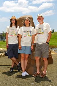 The Marsh / Hodges Family: Drew; Cherri; Paul (not pictured: Emily; Jordan)
