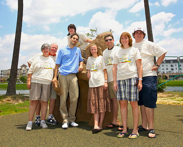 The Chaudoin / Chaudoin Family: Debbie; Don; Adrienne; who?; Lindsey; Nathan; Angela; Chris
