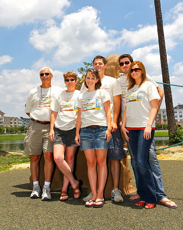 The Chaudoin / Briscoe Family: Ray; Kathy; Lindsay; Nick; Amos; Shannon