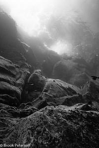 Cliffs of Roca Partida Under Water