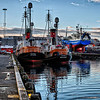 Reykjavíkur Harbor, whaleboats