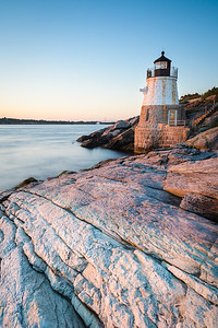 Sunset at Castle Hill Lighthouse on Newport, Rhode Island 2