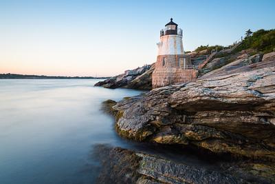 Sunset at Castle Hill Lighthouse on Newport, Rhode Island 3