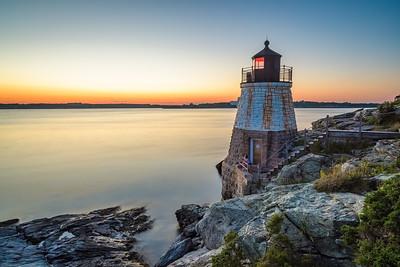 Sunset at Castle Hill Lighthouse on Newport, Rhode Island 7