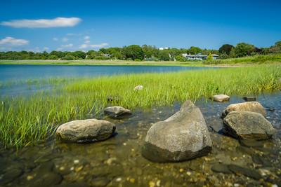 Stones along the bay