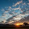 Sunrise at Malvern Hill plantation