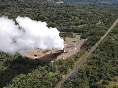 """Guanacaste, Costa Rica - January 10, 2021: """"Las Pailas"""" Geothermal Power Plant"""