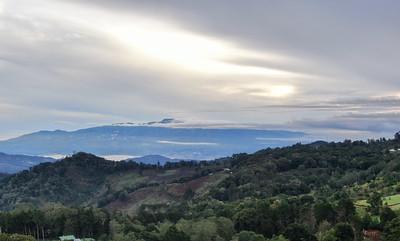 Tropical Mountains in Dota, Costa Rica