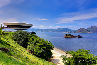 Spaceship with a View, Niterói, Rio de Janeiro