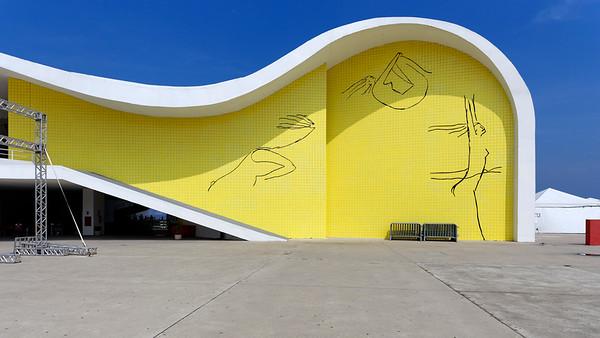 Teatro Popular de Niteroi, Rio de Janeiro, Brazil (Oscar Niemeyer)