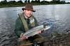 Salmon Angler River Bann