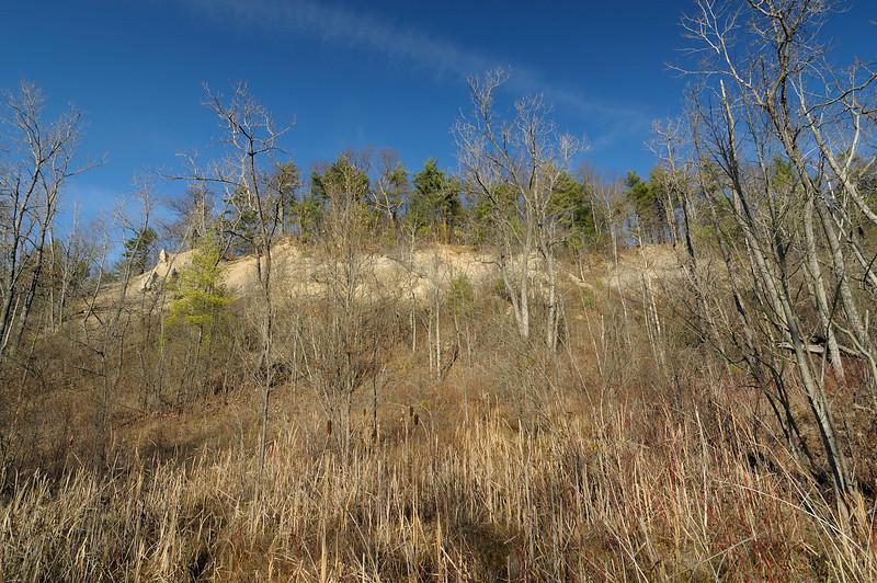 Bluffs overlooking the river near Caneadea.  Nikon D5000 (2009).