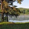 Hunts pond early on a summer morning.  Nikon D5000 (June 2009).
